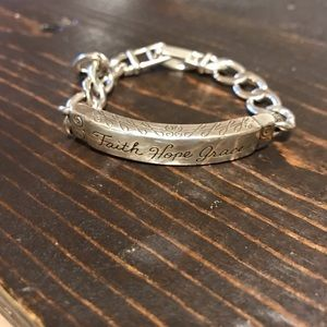 Brighton Faith ID bracelet